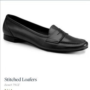 Brooks Brothers stitched loafers
